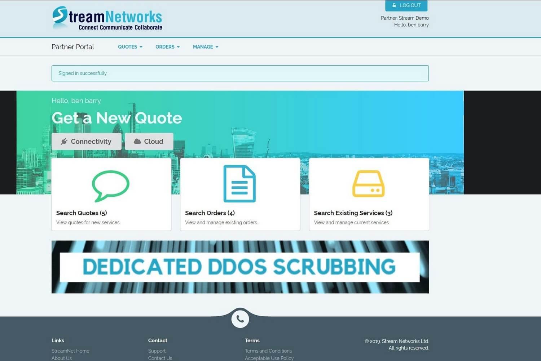 Virtual Datacentre Portal