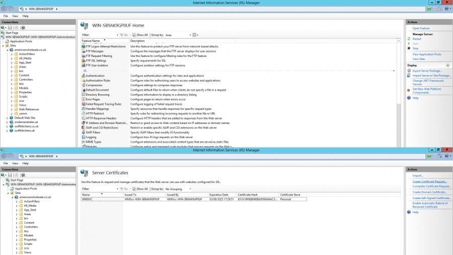 create certificate windows