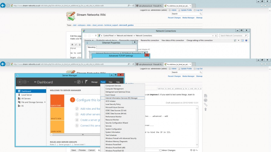 microsoft iis services manager